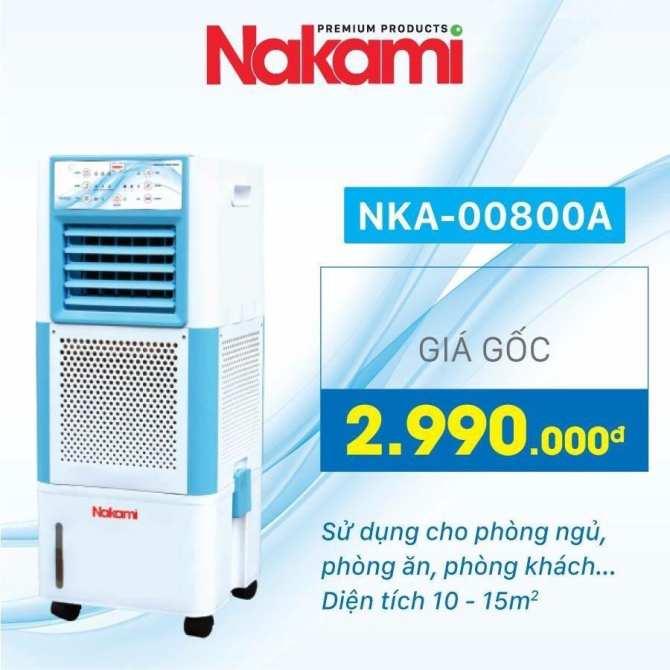 MÁY LÀM MÁT NAKAMI NKA-00800A
